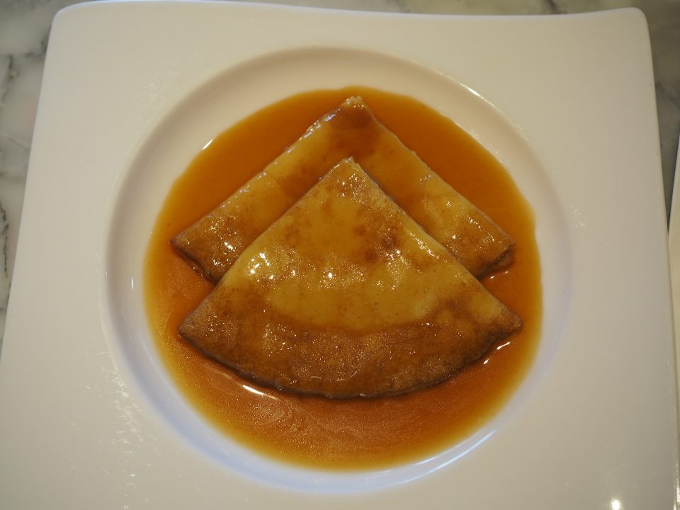 The Crêpe Suzette at Henri Charpentier